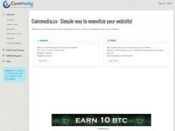 Coinmedia Bitcoin Ad Network