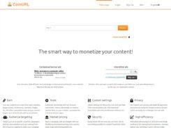 CoinURL Bitcoin Ad Network