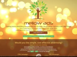 Mellowads Bitcoin Ad Network
